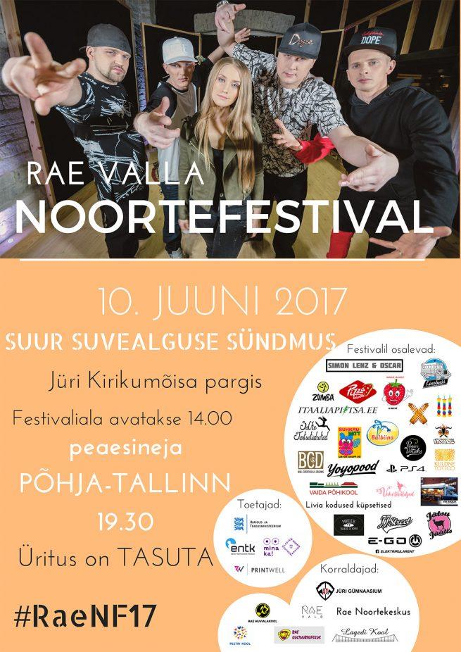 Rae valla Noortefestival 2017