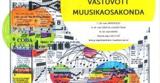 Vastuvõtt muusikaosakonda 2019/20. õa. – TULEMUSED SAADETUD