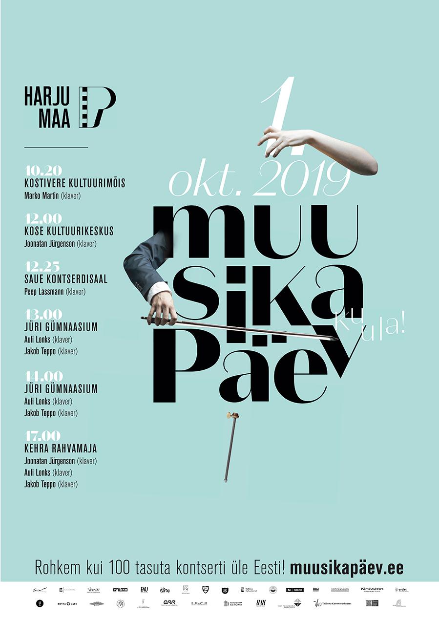 Muusikapäev - 2019 Harjumaa Tabasalu Paldiski Pärdi keskus Keila